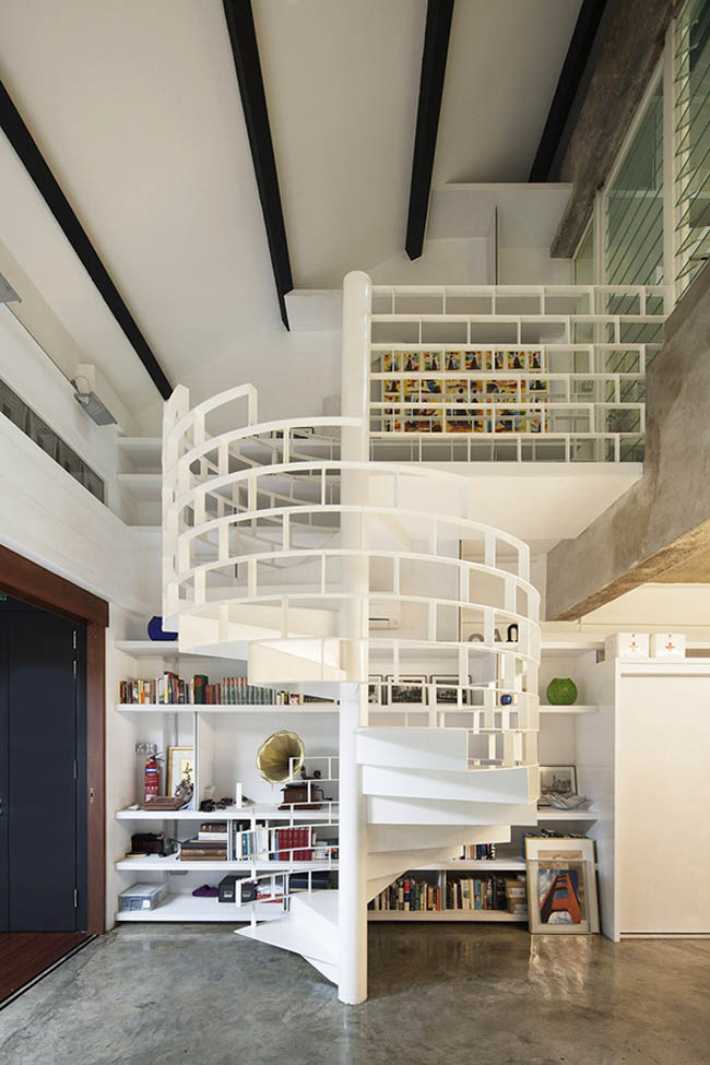 spiral-staircase-design-with-innovative-handrail