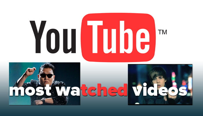 most viewed YouTube videos,