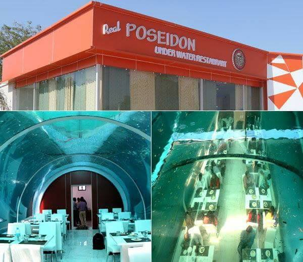 underwater restaurant In Ahmadabad,