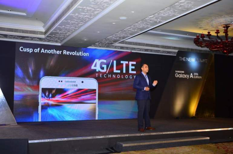 The New Flaunt Samsung Galaxy A 2016 Edition Launch in India