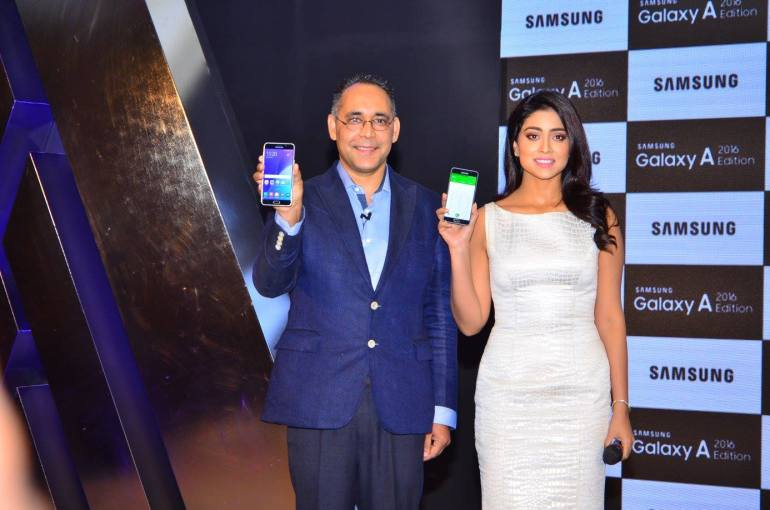 The New Flaunt Samsung Galaxy A 2016 Edition Launch in India (9)