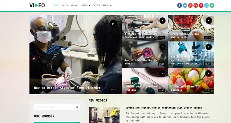 best-video-wordPress-theme-for-educational-website