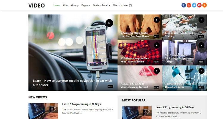 best-video-wordPress-theme-for-video-website