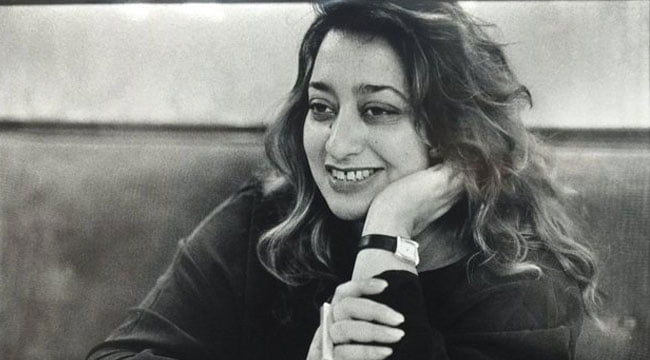 rare photos of zaha hadid,