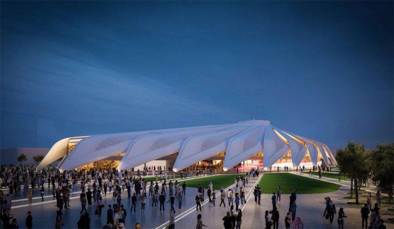 Falcon Pavilion Design by Santiago Calatrava for Dubai Expo 2020 kadvacorp (1)