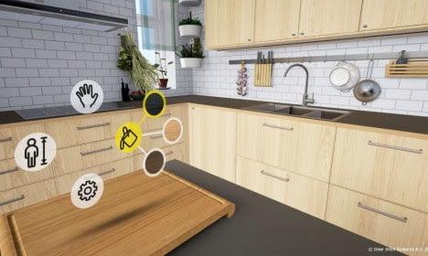 virtual reality app,