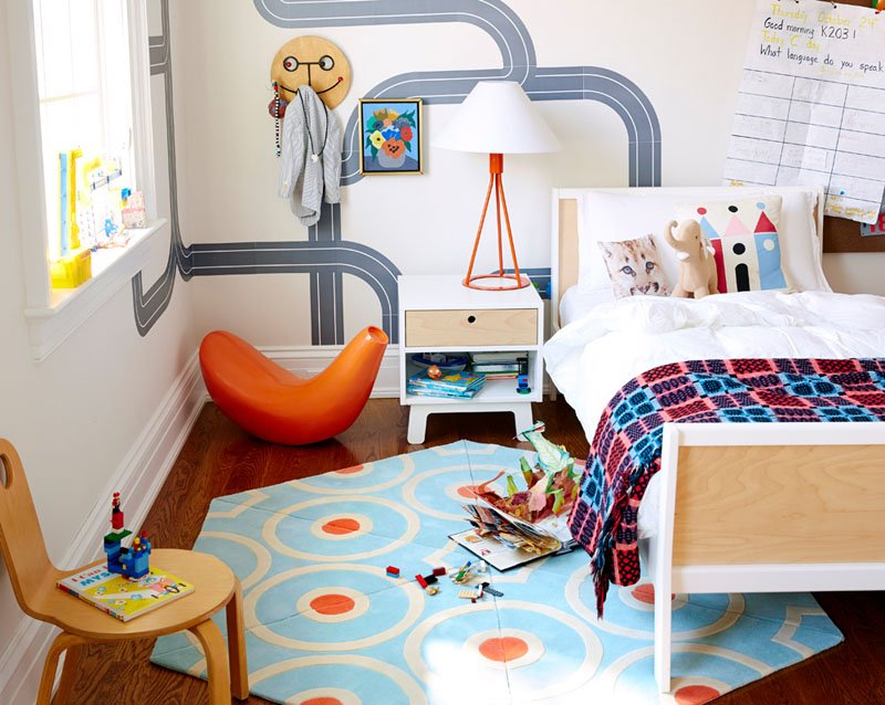 round area rugs for kids room to create playful space