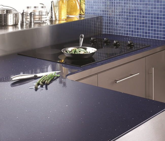 Examples of unconventional kitchen counter tops design