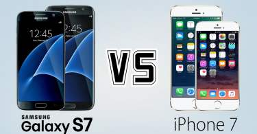 iPhone 7 vs,