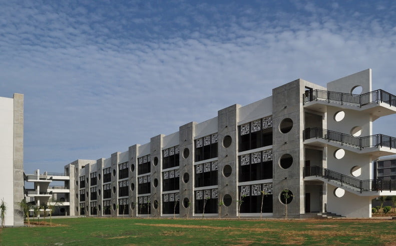 boarding school building,