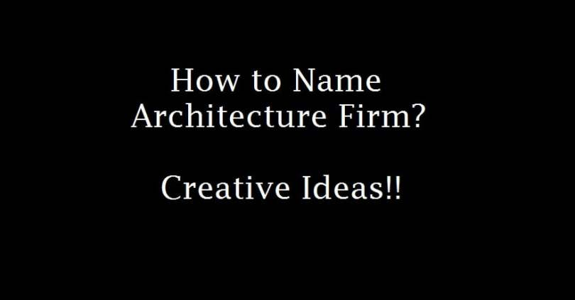 name architecture firm,