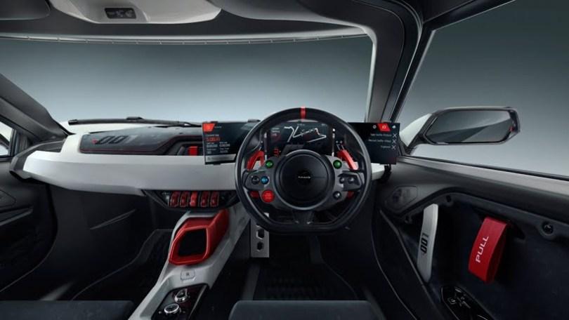 TATA TAMO Racemo Two seater Sports Car interior look,
