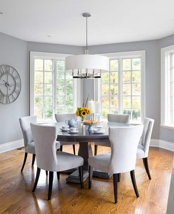 Dining Room Ideas - Gray Paint Colors