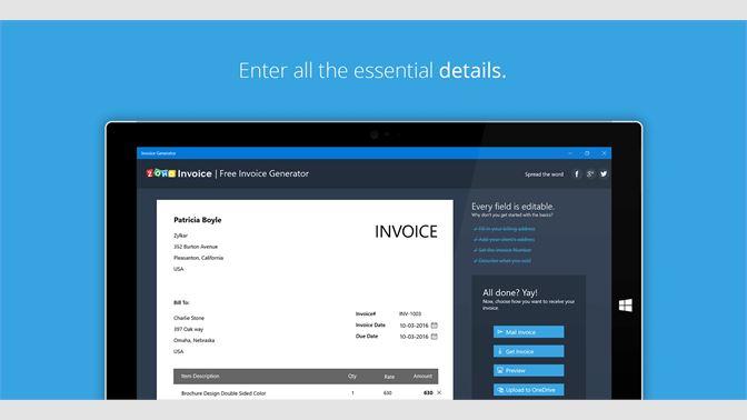 Best Free Invoice Generator