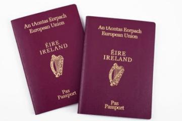passaporte irlandês