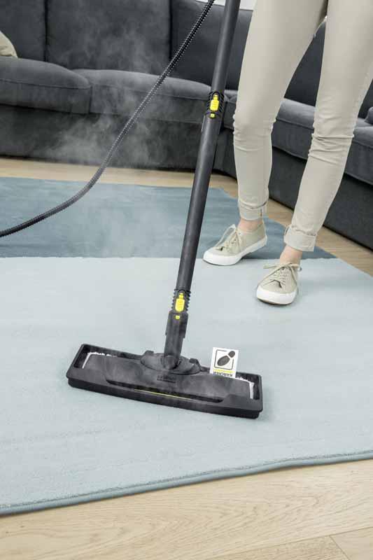 karcher adapteur tapis et moquette pour nettoyeurs vapeur