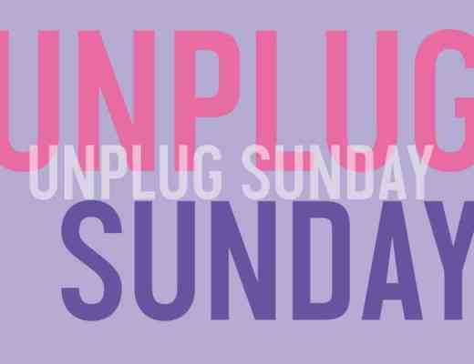 unplug sunday