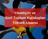 8 Soruda Yönetişim ve Sivil Toplum Kuruluşları | Marmara Üniversitesi'nde Yüksek Lisans