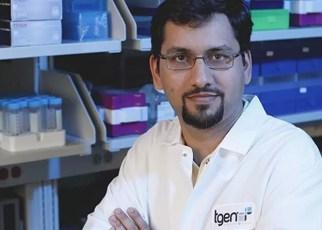 Muhammed Murtaza, MBBS, Ph.D., Asisten Profesor dan Co-Direktur Pusat TGen untuk Diagnostik Noninvasif. Salah satu penulis senior studi ini. Kredit: TGen