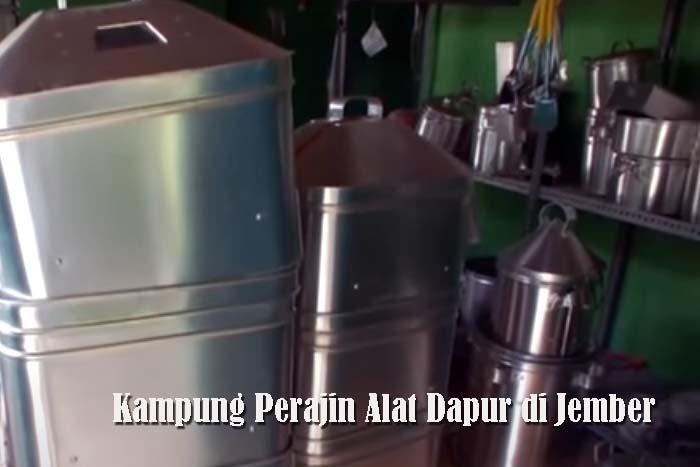 Kampung Perajin Alat Dapur di Jember