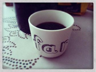 Søndag morgen kaffe © Kaffebloggen.dk