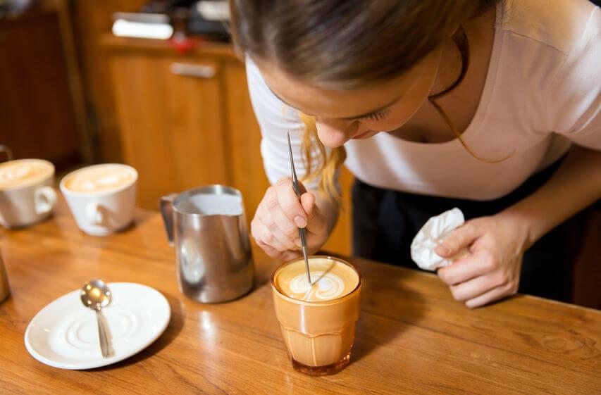 elektrischer espressokocher tasse