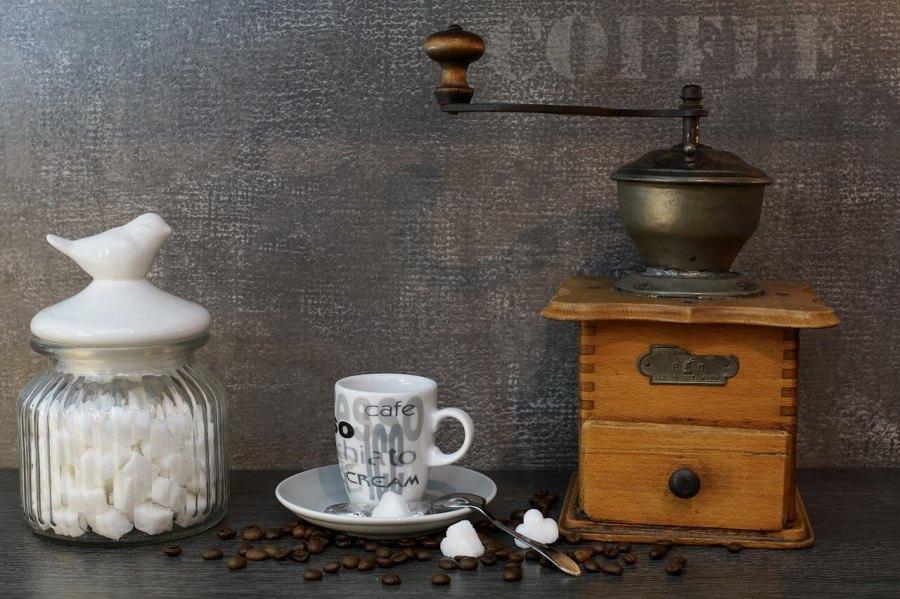 handbetriebene Kaffeemühle
