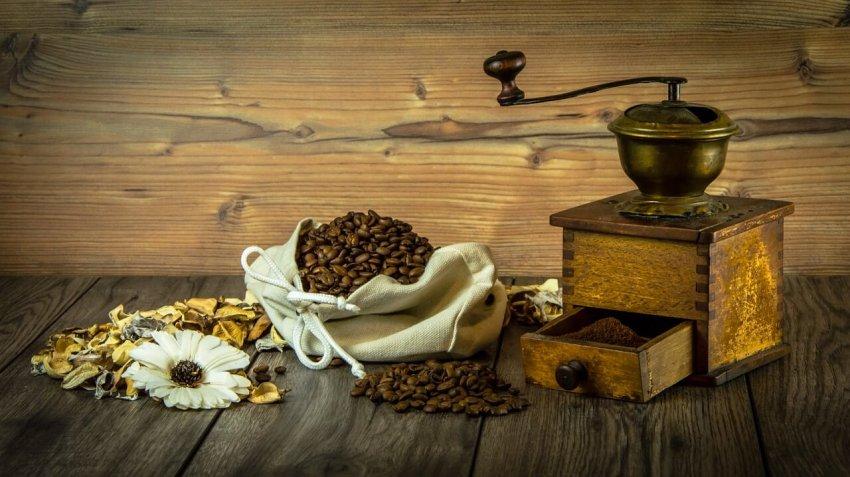 manuell kaffee mahlen