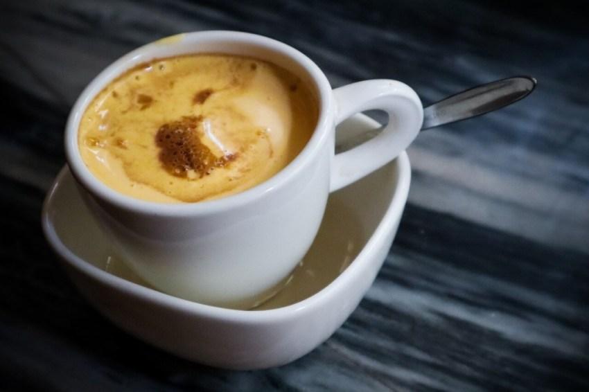 kaffee mit ei