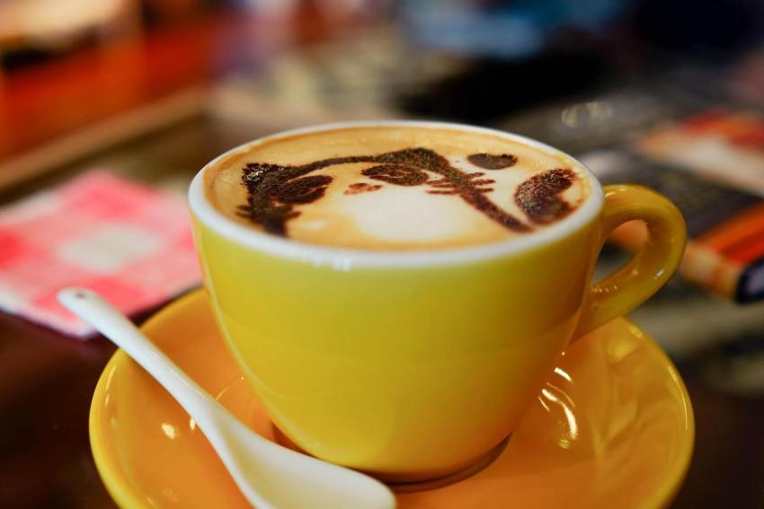 kaffeepads mit milch