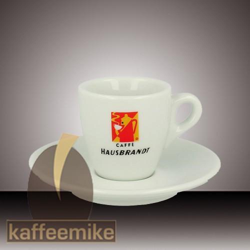 6x hausbrandt espresso tassen service