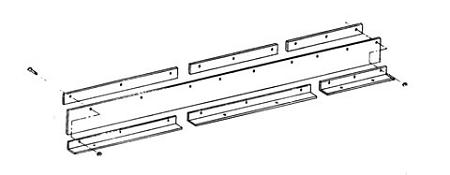 (1309005) Snow Deflector, Meyer ST-78/90 w/Mounting Kit