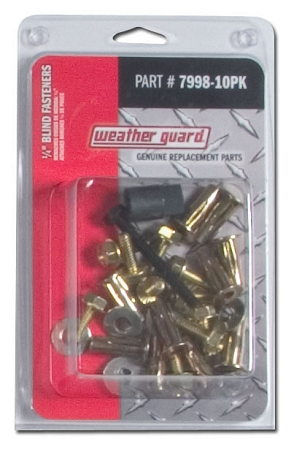 7998 10pk Weather Guard 1 4 Quot Blind Fasteners