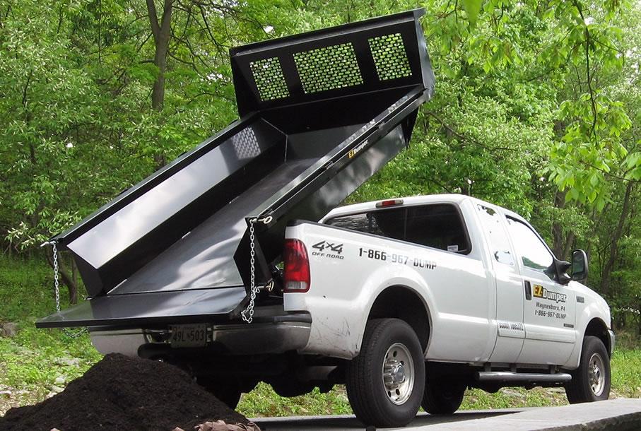 boss snow plows 2005 jetta wiring diagram ez-dumper steel pickup dump insert - kaffenbarger truck equipment co.