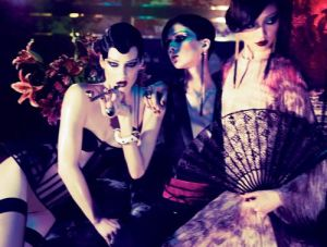 Photo series for Interview Magazine by Mert & Marcus.