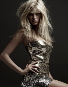 Model Lara Stone, French Vogue.