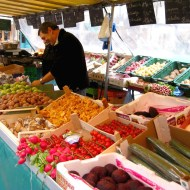 Another one of the fresh produce stalls.