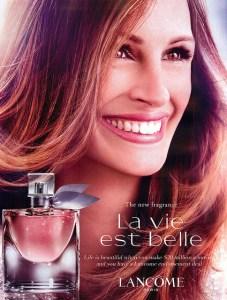 L'Oreal's La Vie Est Belle, by Lancome. Source: myfdb.com