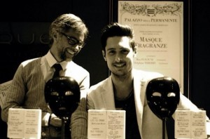 Masque Milano's founders. Source: their website.