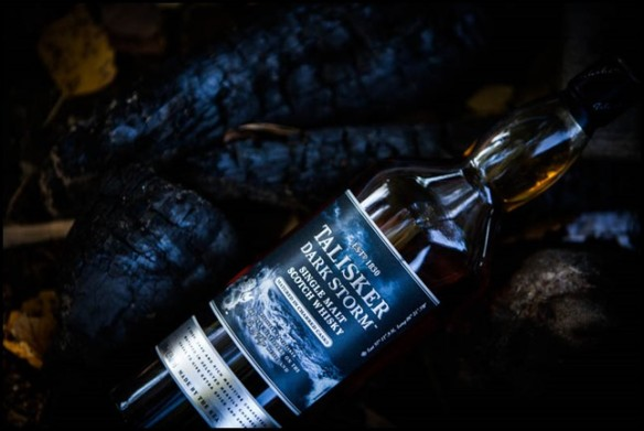 Talisker, an Islay single malt on singed wood. Photo: Savuista at the Savuista blog. http://savuista.blogspot.com/2013_10_01_archive.html