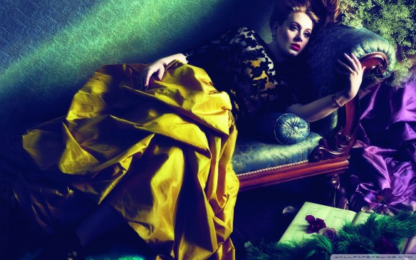 Adele. Photo: Mert & Marcus for US Vogue, 2013. Source: wallpaperswide.com