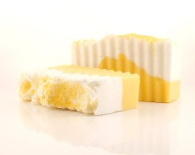 Lemon almond soap. Source: blog.wholesalesuppliesplus.com