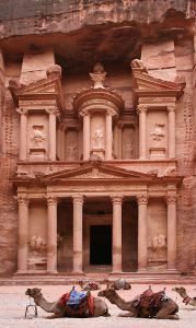 Al Khazneh Temple at Petra. Source: Wikimedia