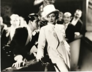 Marlene Dietrich with Cary Grant in Blonde Venus. Source: glamamor.com