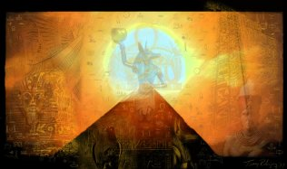 """Ancient Egypt"" by Wiccka. Source: DeviantArt. (Website link embedded within.)"