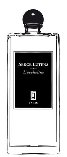 L'Orpheline, Regular bottle, black-label for Haute Concentration. Source: Serge Lutens.