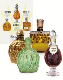 Vintage perfume bottles. Source: Roja Parfums.