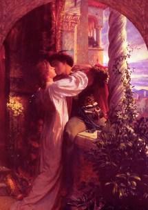 """Romeo and Juliet,"" by Sir Frank Dicksee. Source: caitaratartaglia.wordpress.com"