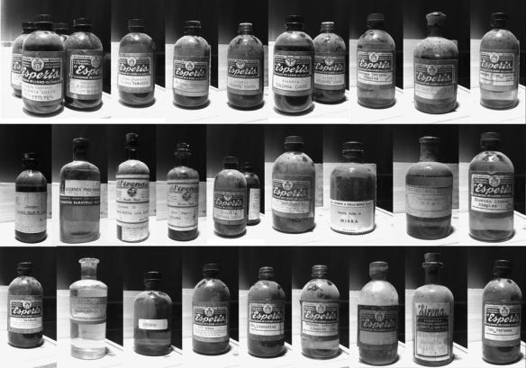 The vintage bottles. Source: bogueprofumo.com