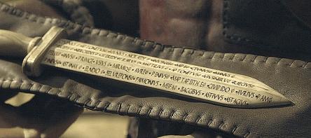 "A ""rudis."" Source: Spartacus forum at therpf.com"